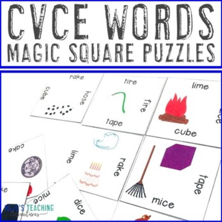CVCe Magic Square Puzzle