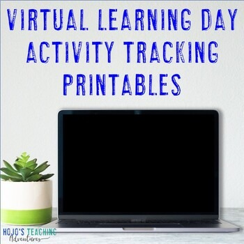 EDITABLE At Home Learning Tracking Printables