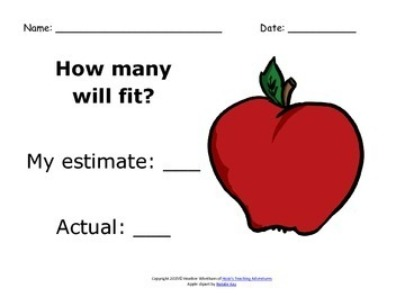 FREE Estimation Activities