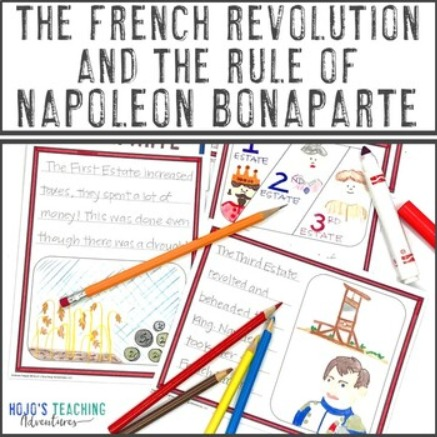 The French Revolution and the Rule of Napoleon Bonaparte Activity Book