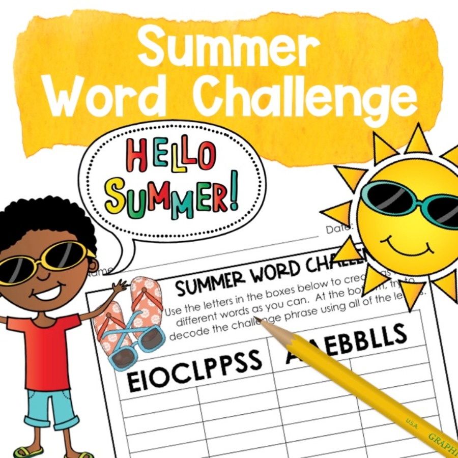 End of 3rd, 4th, & 5th GRADE Stop the Summer Slide BUNDLE