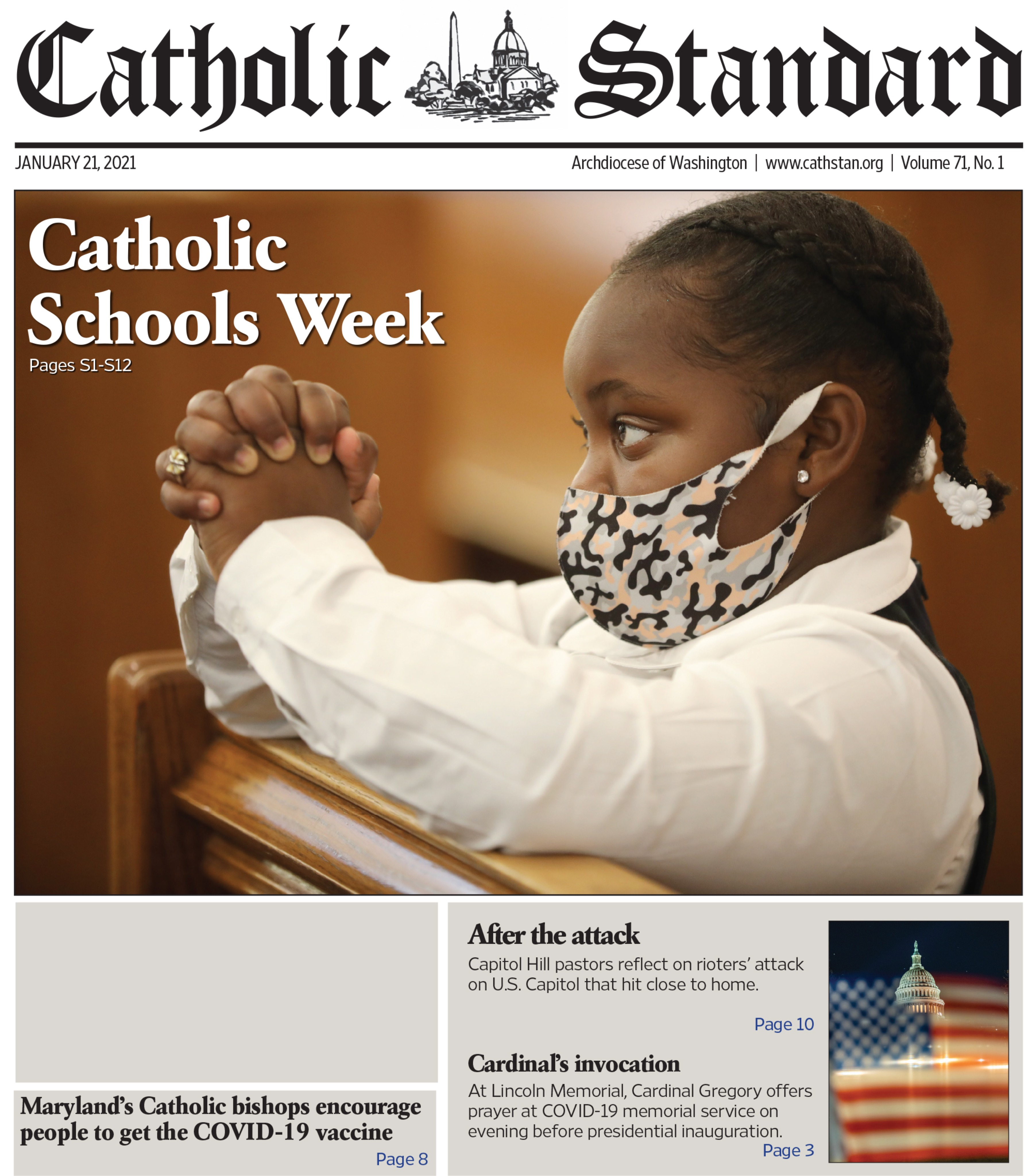 Catholic Standard I January 21, 2021