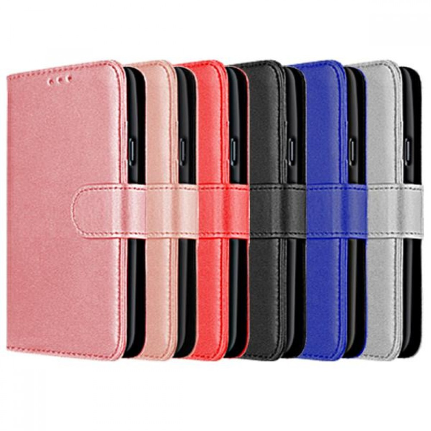 Samsung Galaxy S21 Compatible Book Case With Wallet Slot