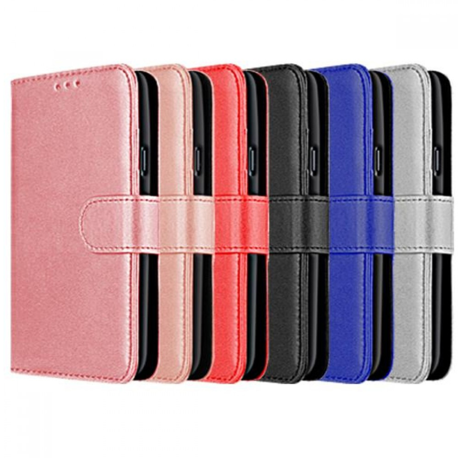 Samsung Galaxy A12 Compatible Book Case With Wallet Slot