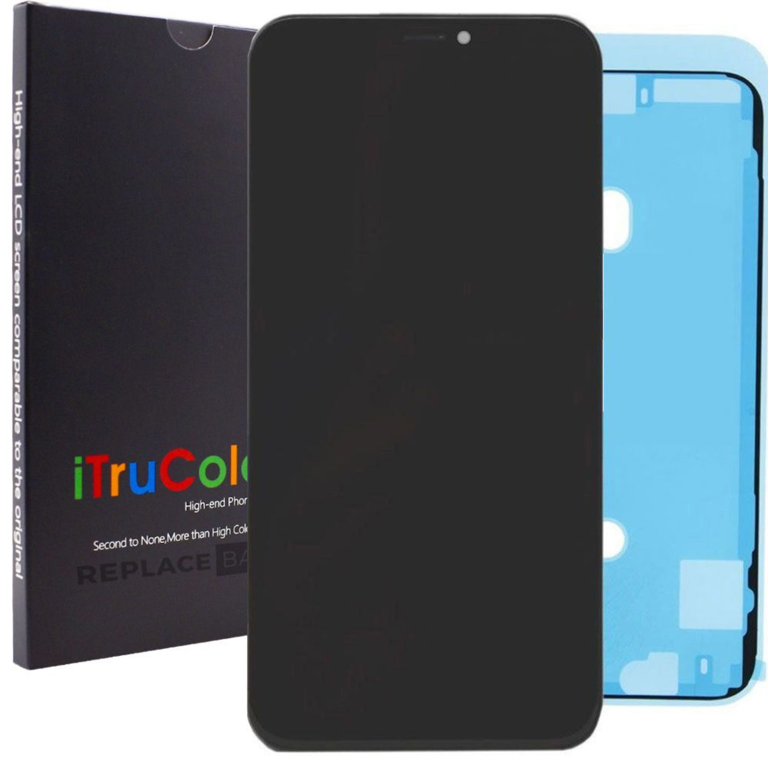 iPhone XR Screen - Vivid Colour LCD by iTruColor + Fitting
