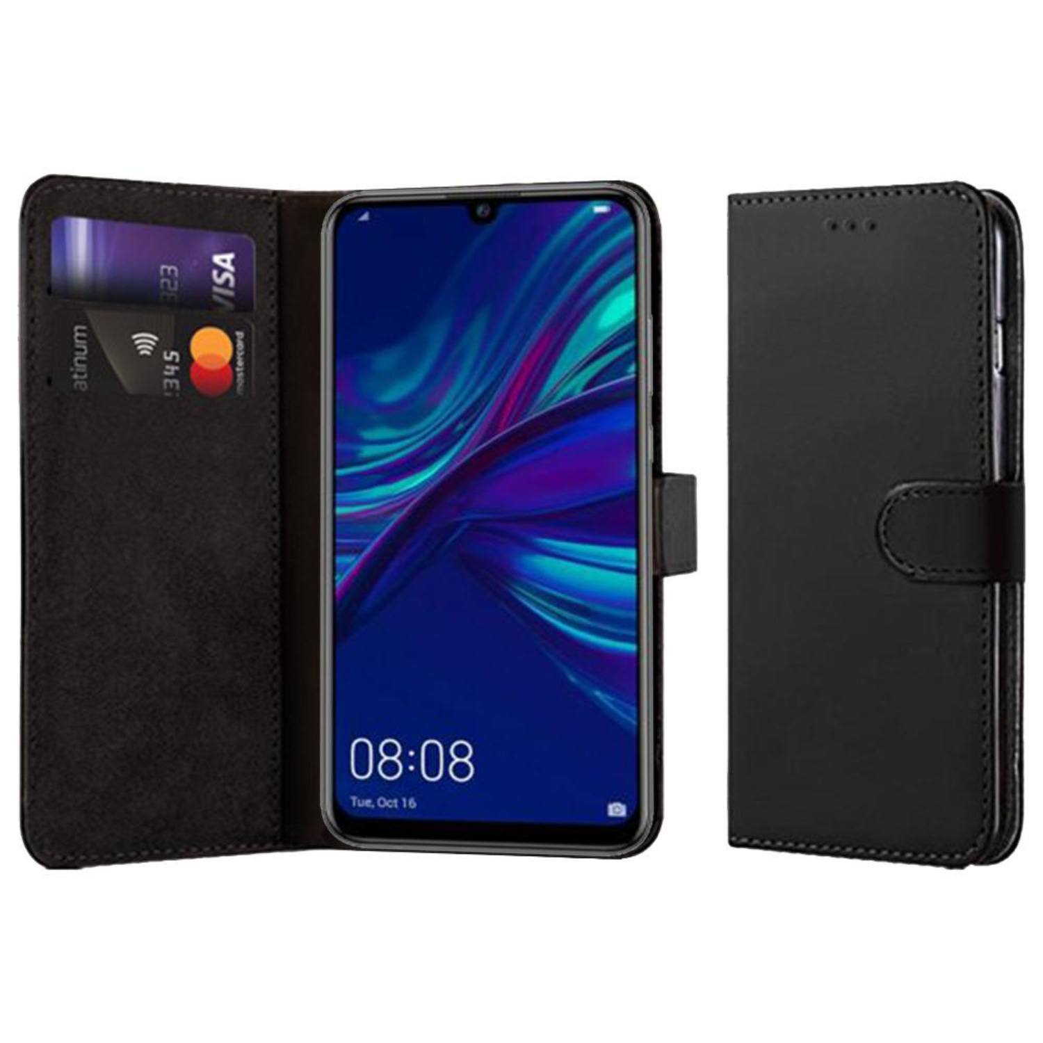 Huawei P Smart 2019 Compatible Book Case With Wallet Slot