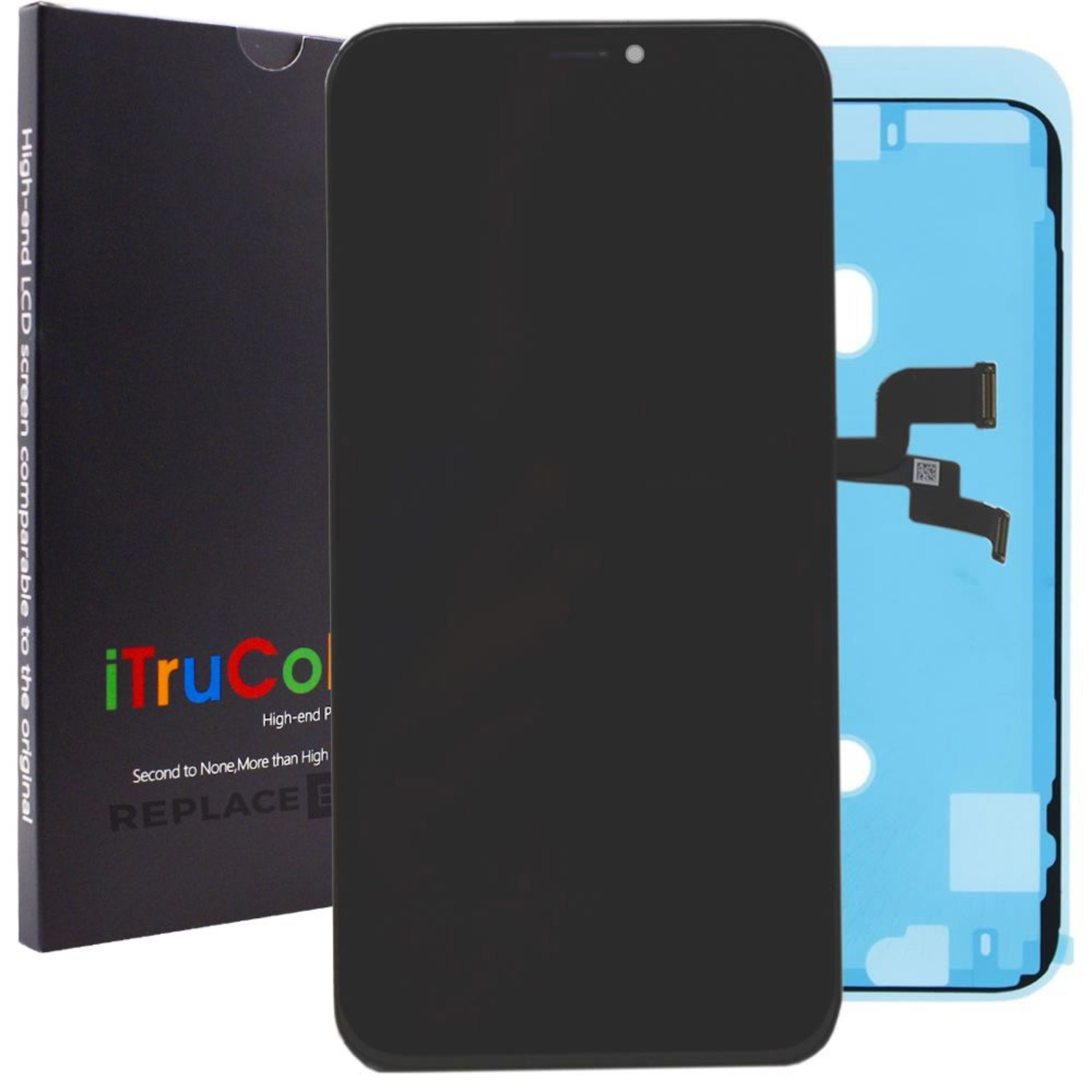 iPhone X Screen - Vivid Colour LCD by iTruColor + Fitting