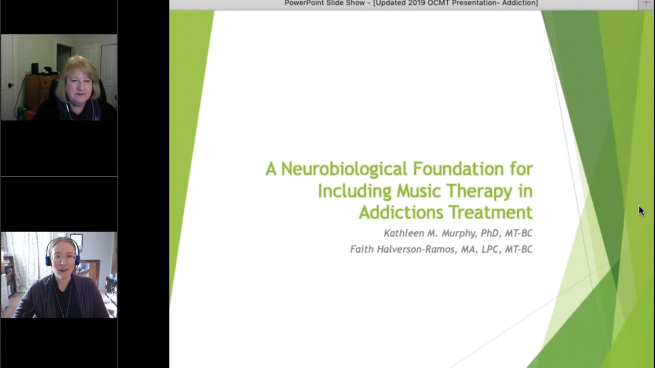 A Neurobiological Foundation for Including Music Therapy in Addictions Treatment