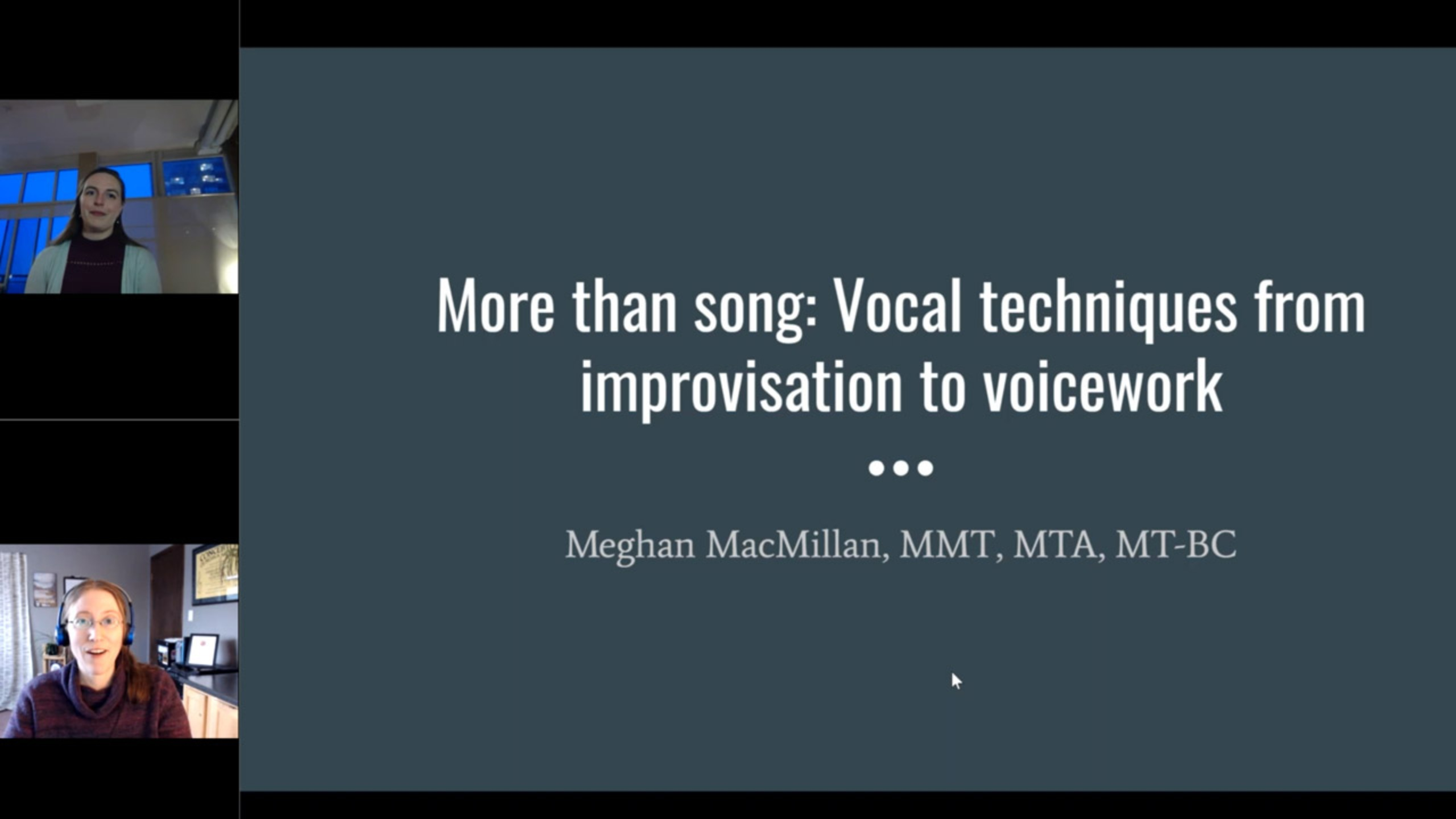 More than Song: Vocal Techniques and Interventions from Voicework to Improvisation
