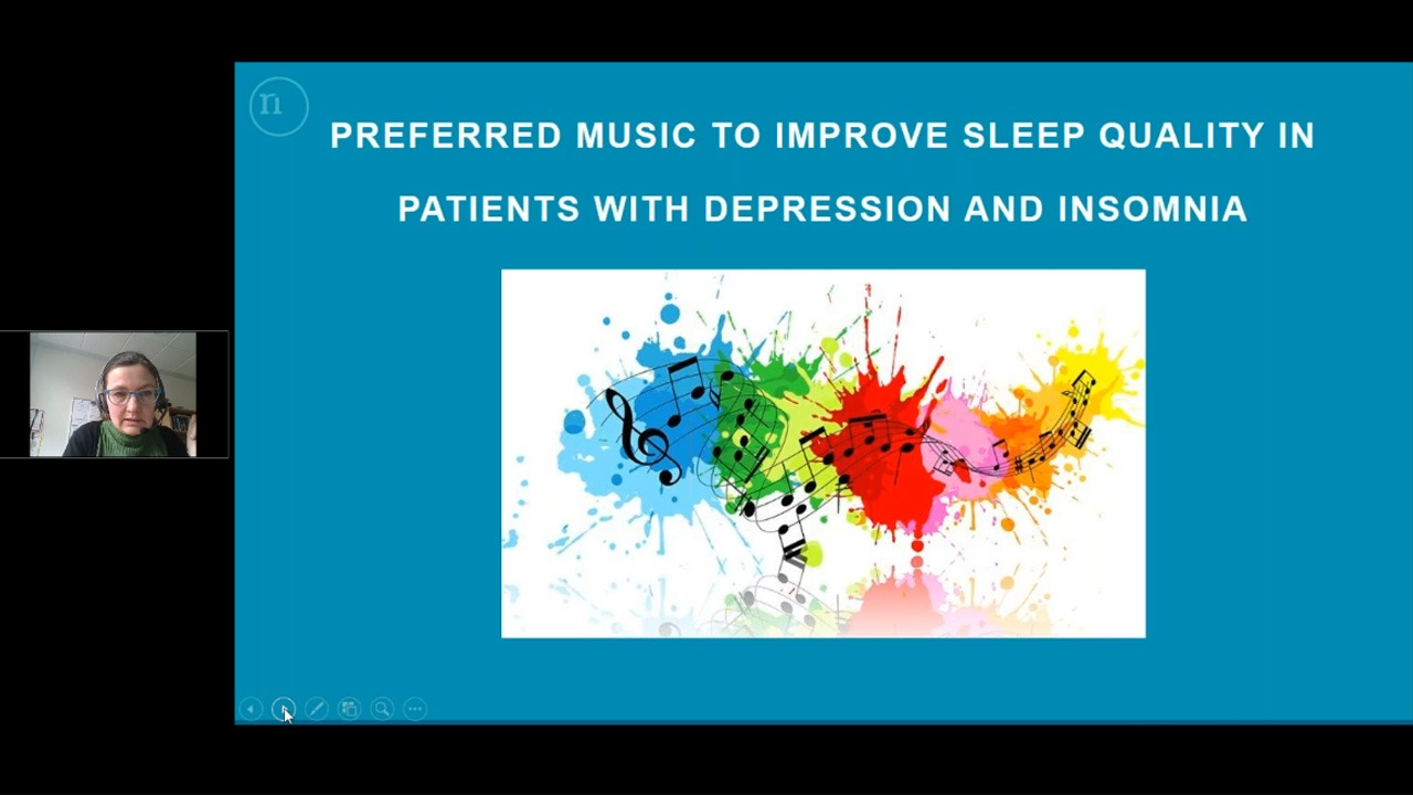 Preferred Music to Improve Sleep Quality in Adults with Depression and Insomnia