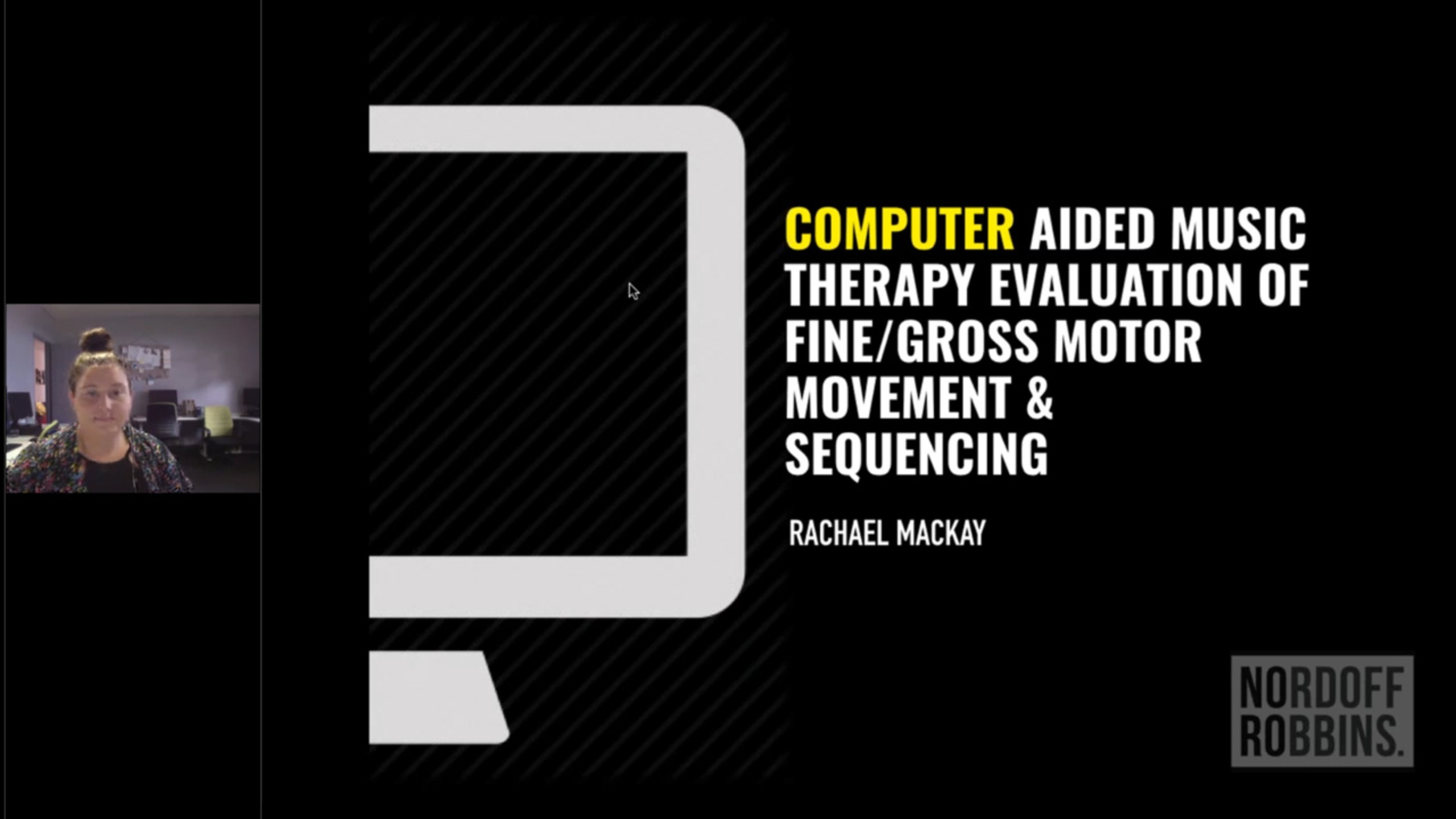 Utilizing Tech. to Enhance Understanding of Music Therapy's Effect of Motor Movement & Sequencing