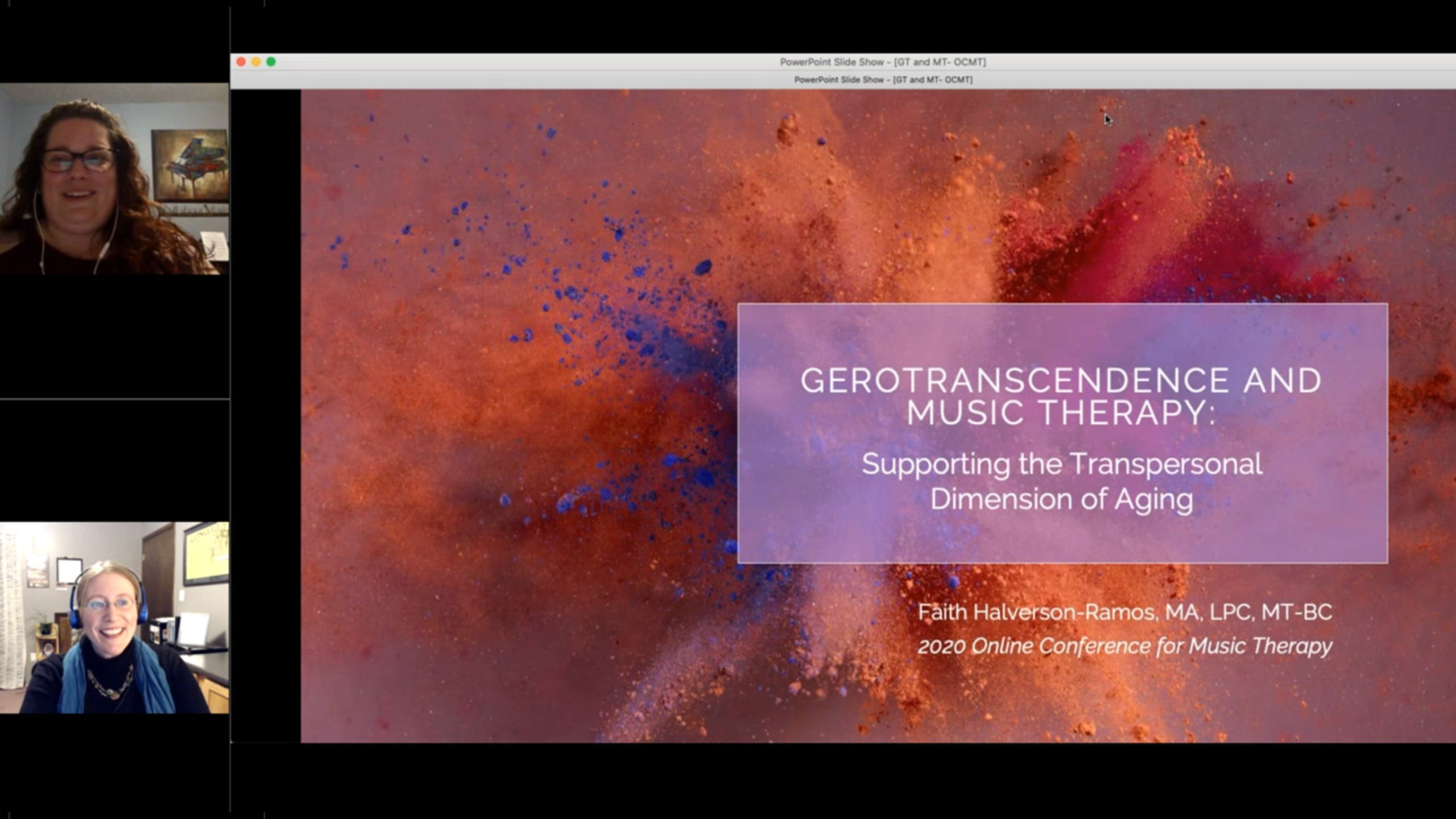 Gerotranscendence and Music Therapy: Supporting a Transpersonal Dimension to Aging