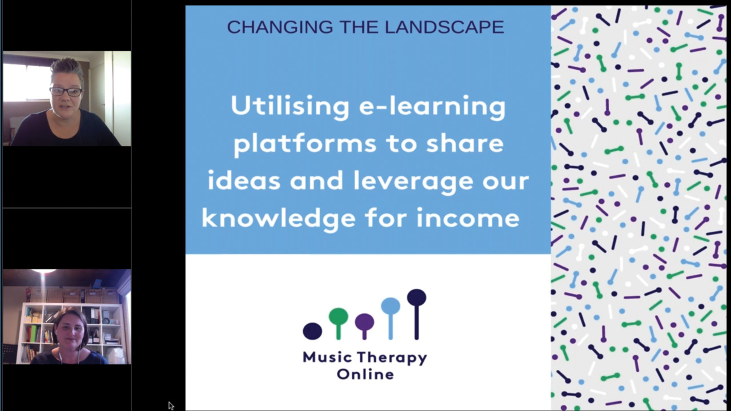 Utilising e-learning platforms to share ideas and leverage our knowledge for income