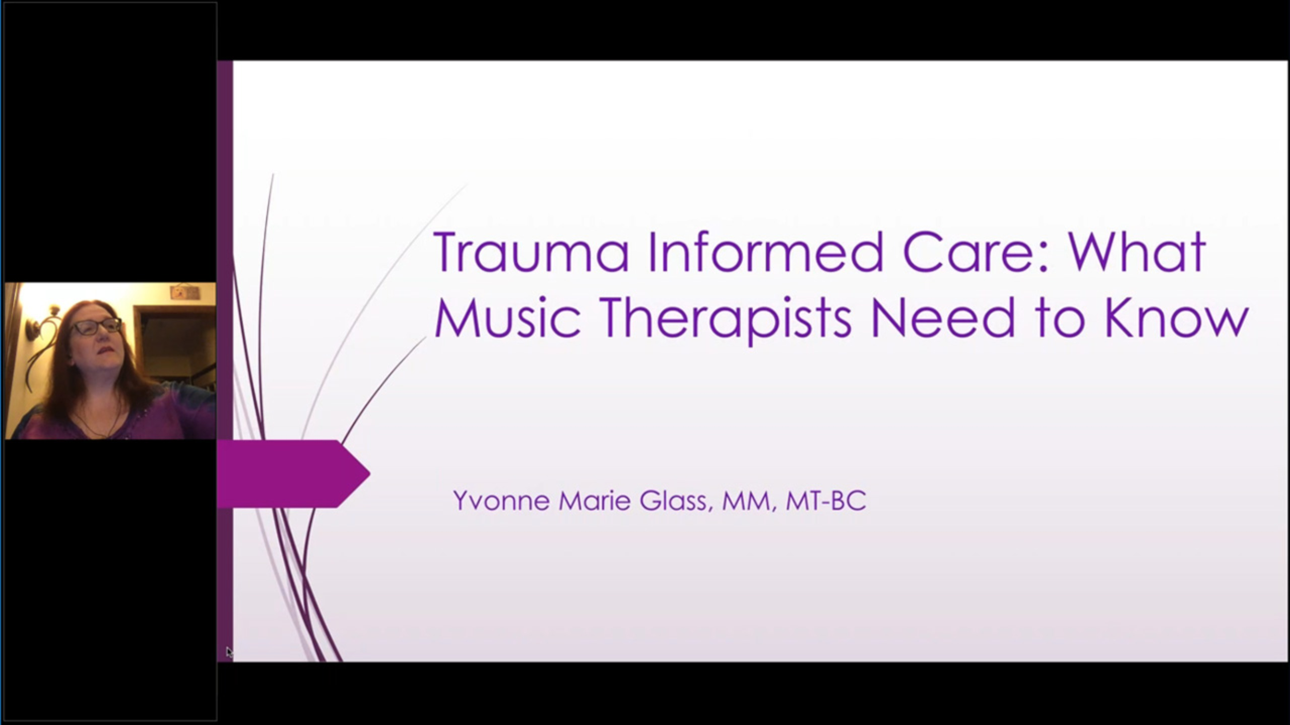Understanding Trauma Informed Care: What Music Therapists Need to Know