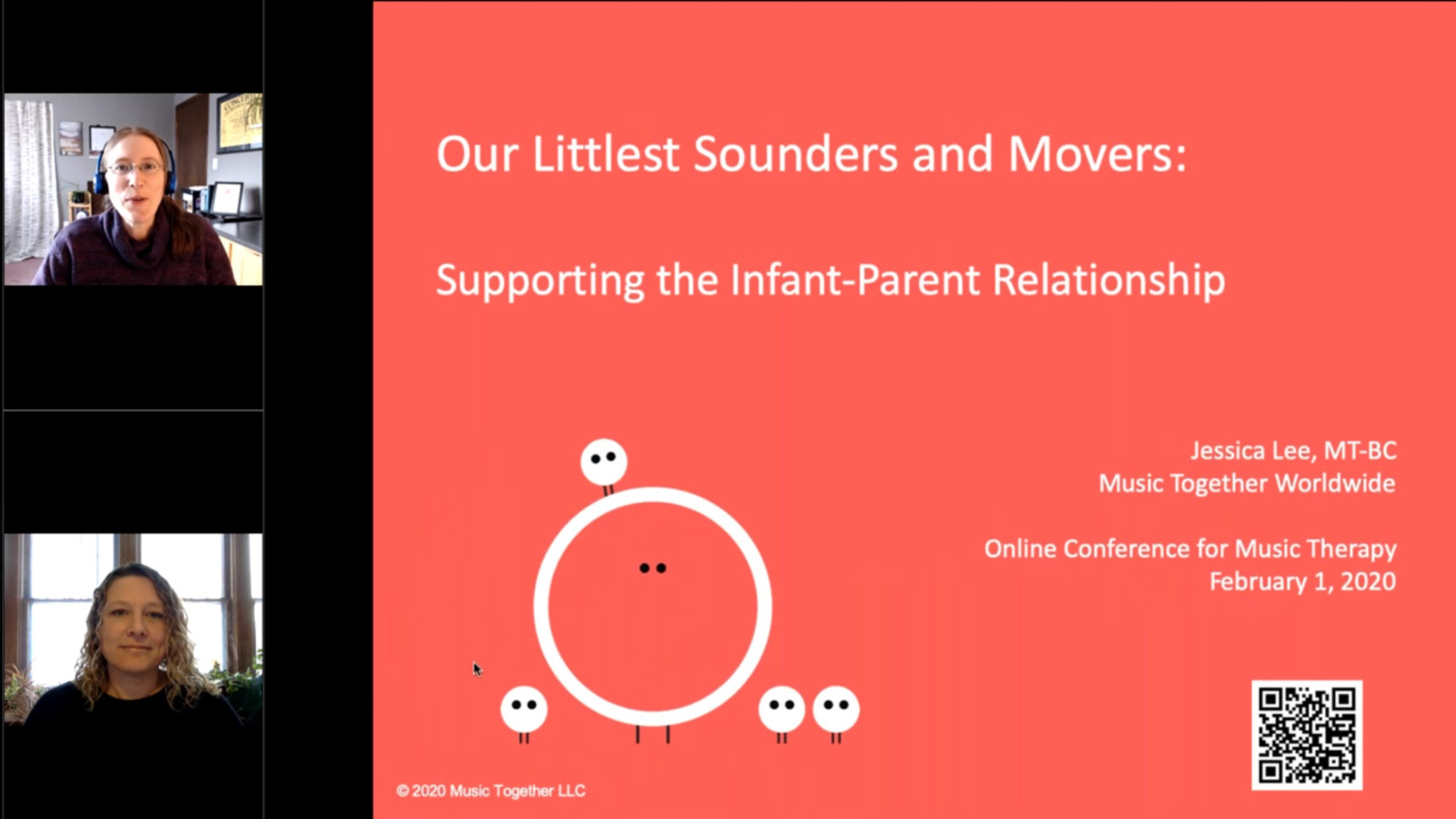 Our Littlest Sounders and Movers: Supporting the Infant-Parent Relationship