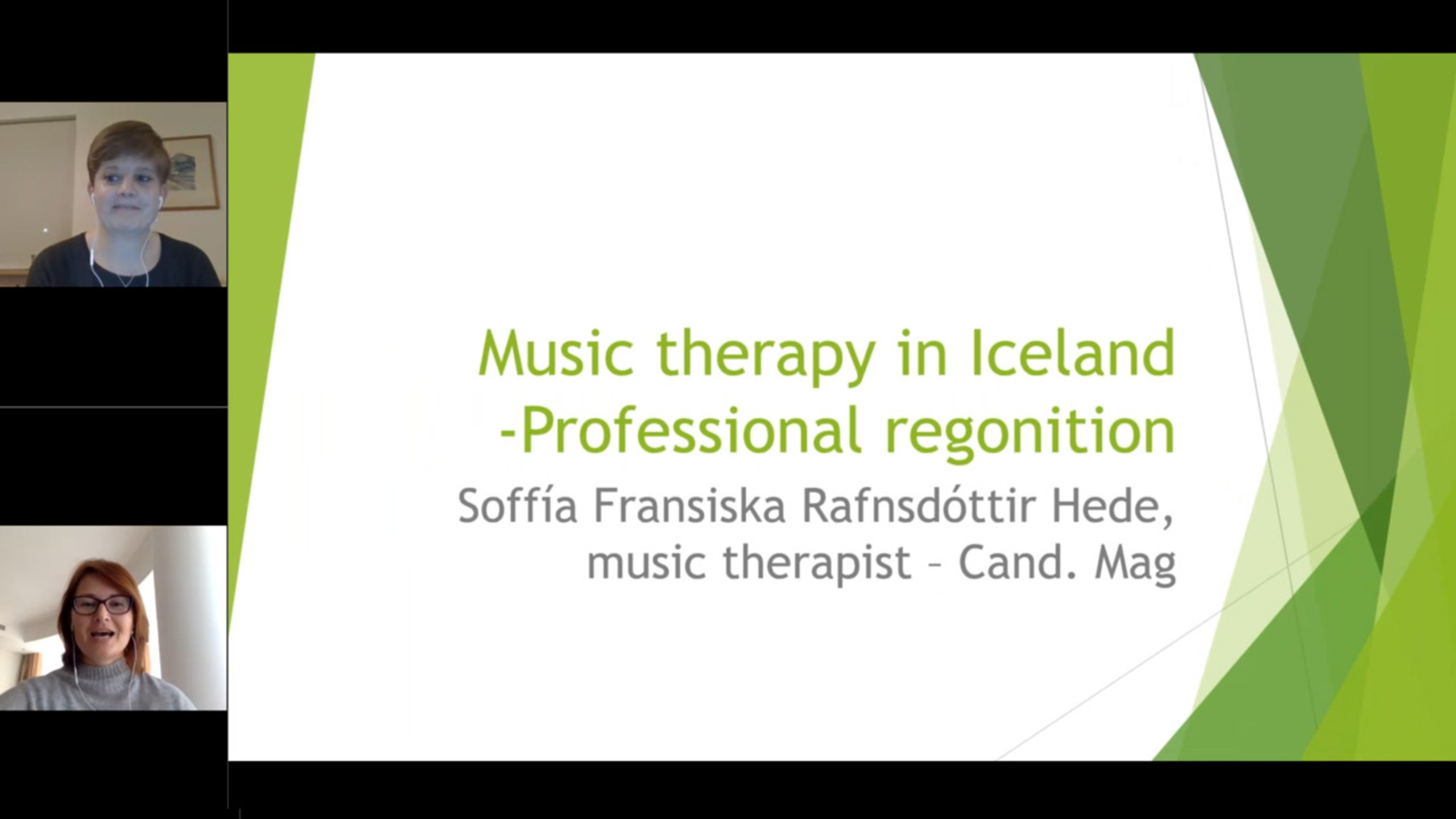 Music Therapy in Iceland: Professional Recognition
