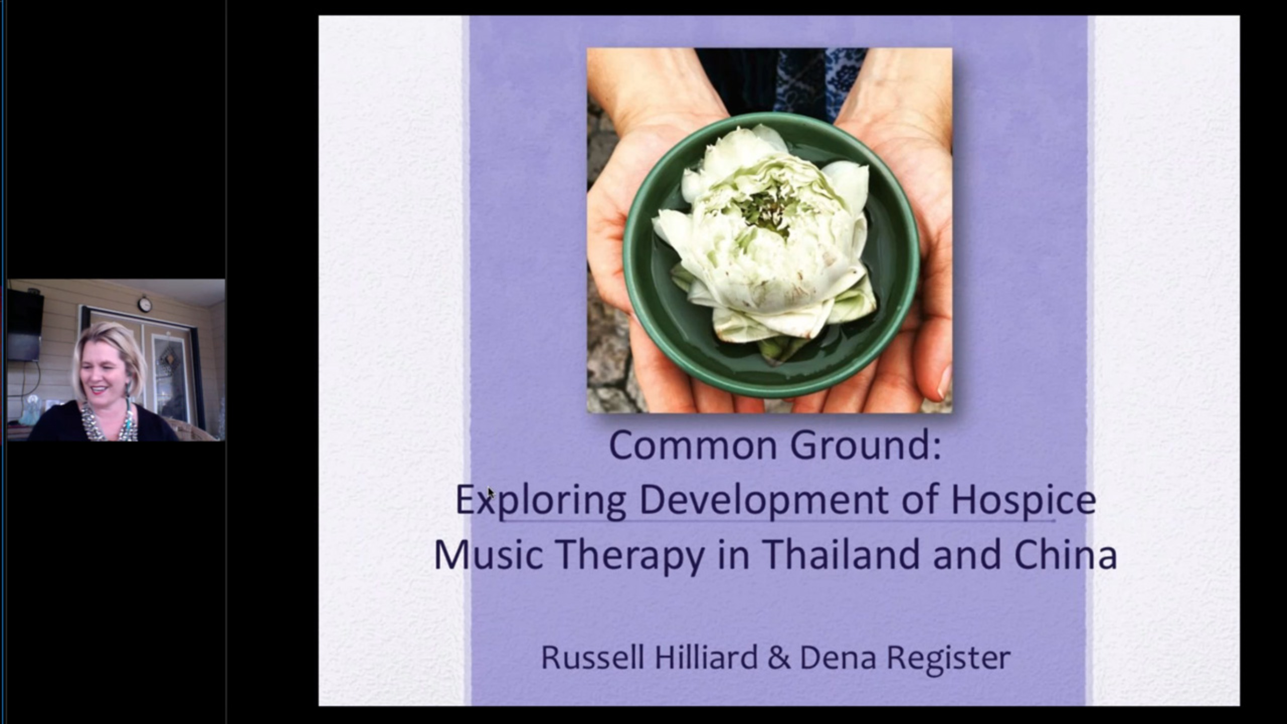 Common Ground: Exploring Development of Hospice Music Therapy in Thailand and China