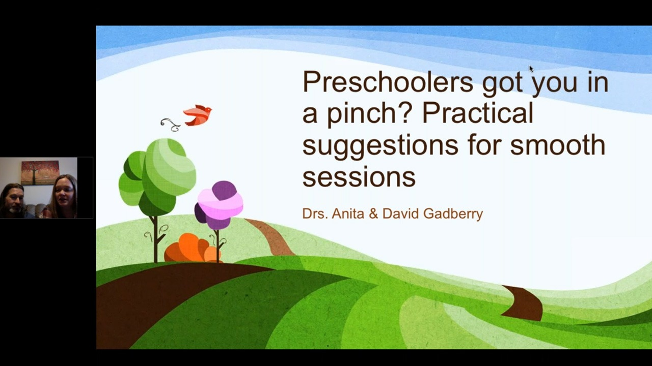Preschoolers Got You in a Pinch: Practical Suggestions for Smooth Sessions
