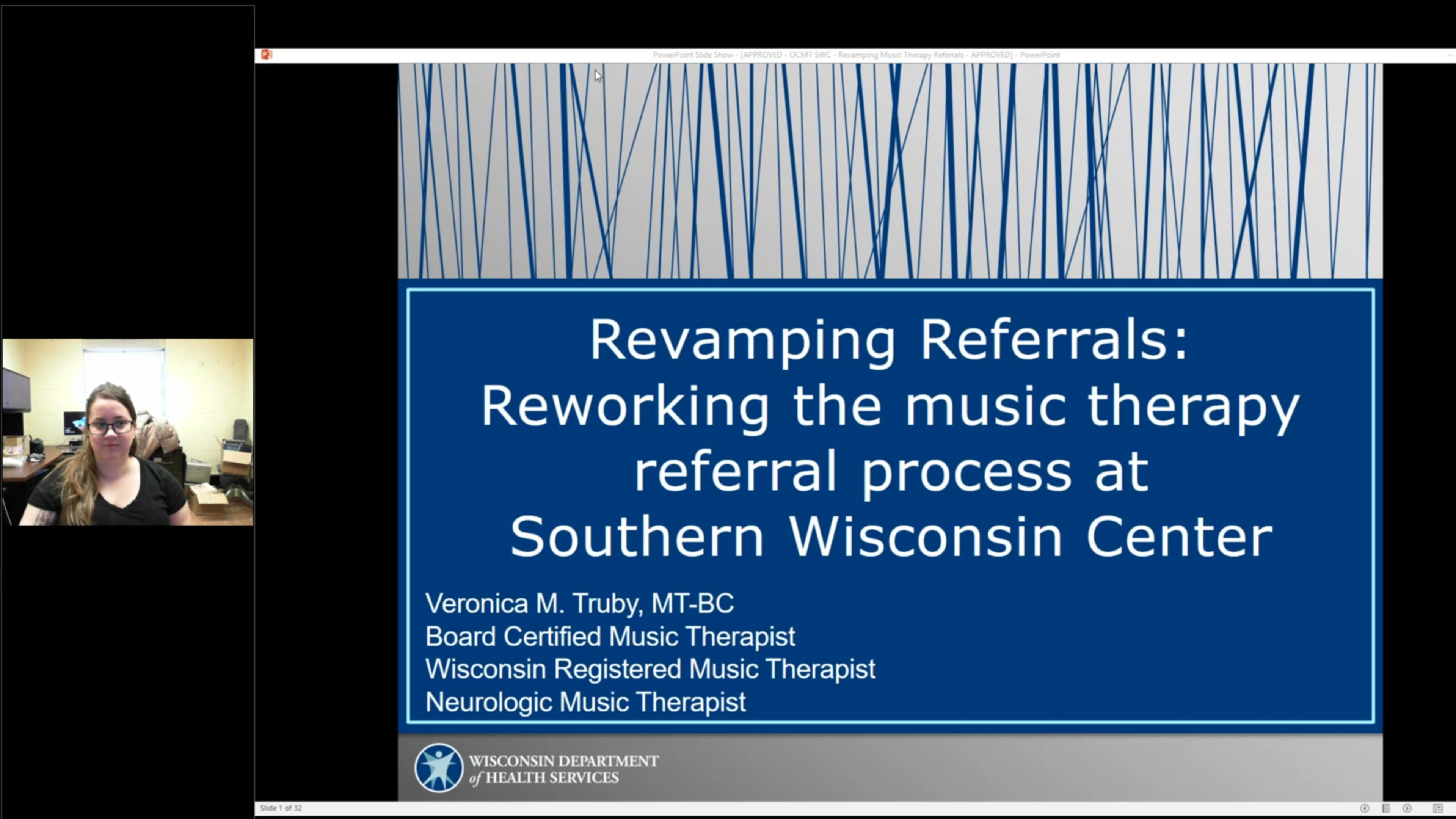 Revamping Referrals: Reworking the Music Therapy Referral Process at Southern Wisconsin Center