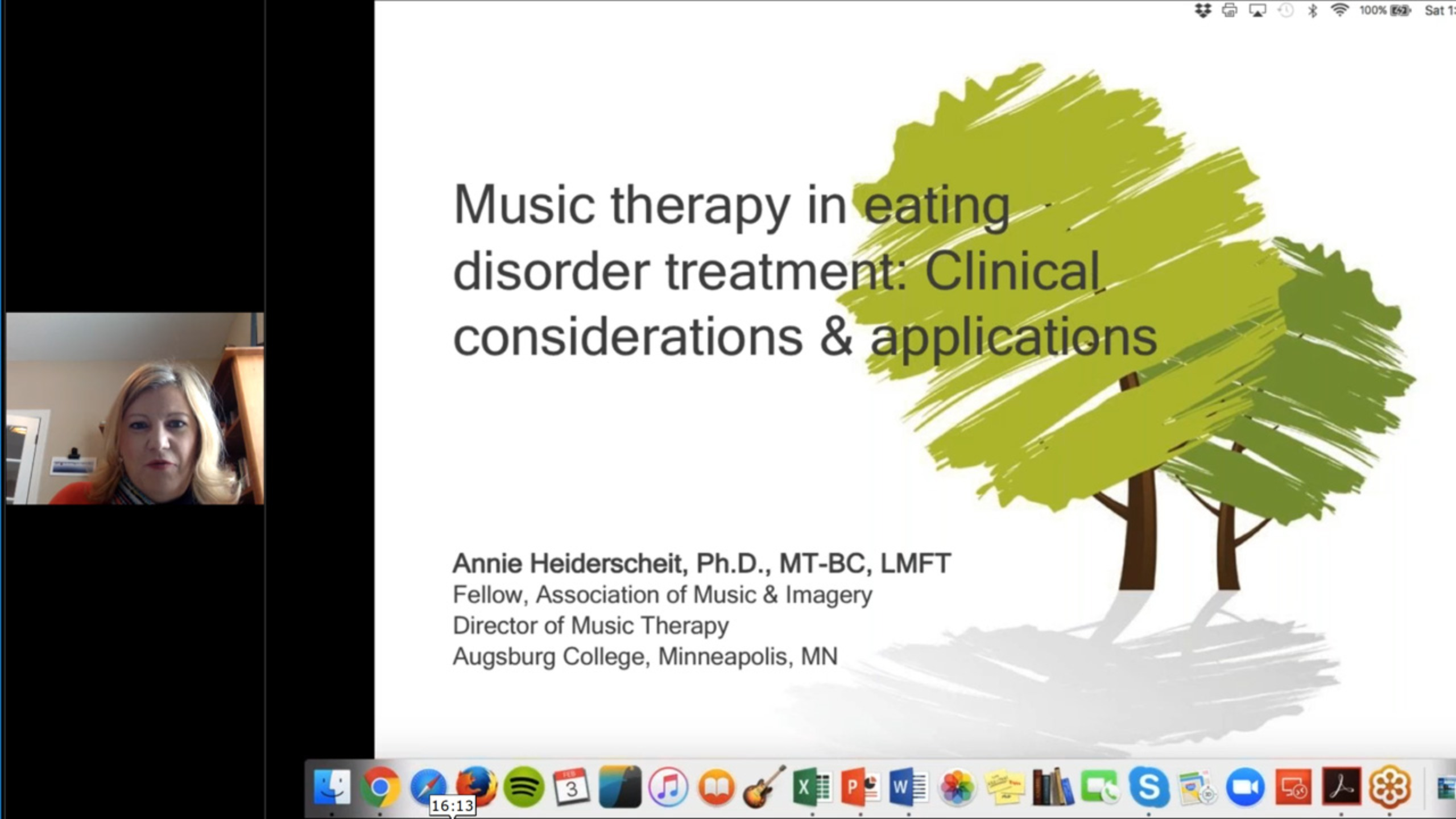 Music therapy in eating disorder treatment: Clinical considerations and and applications