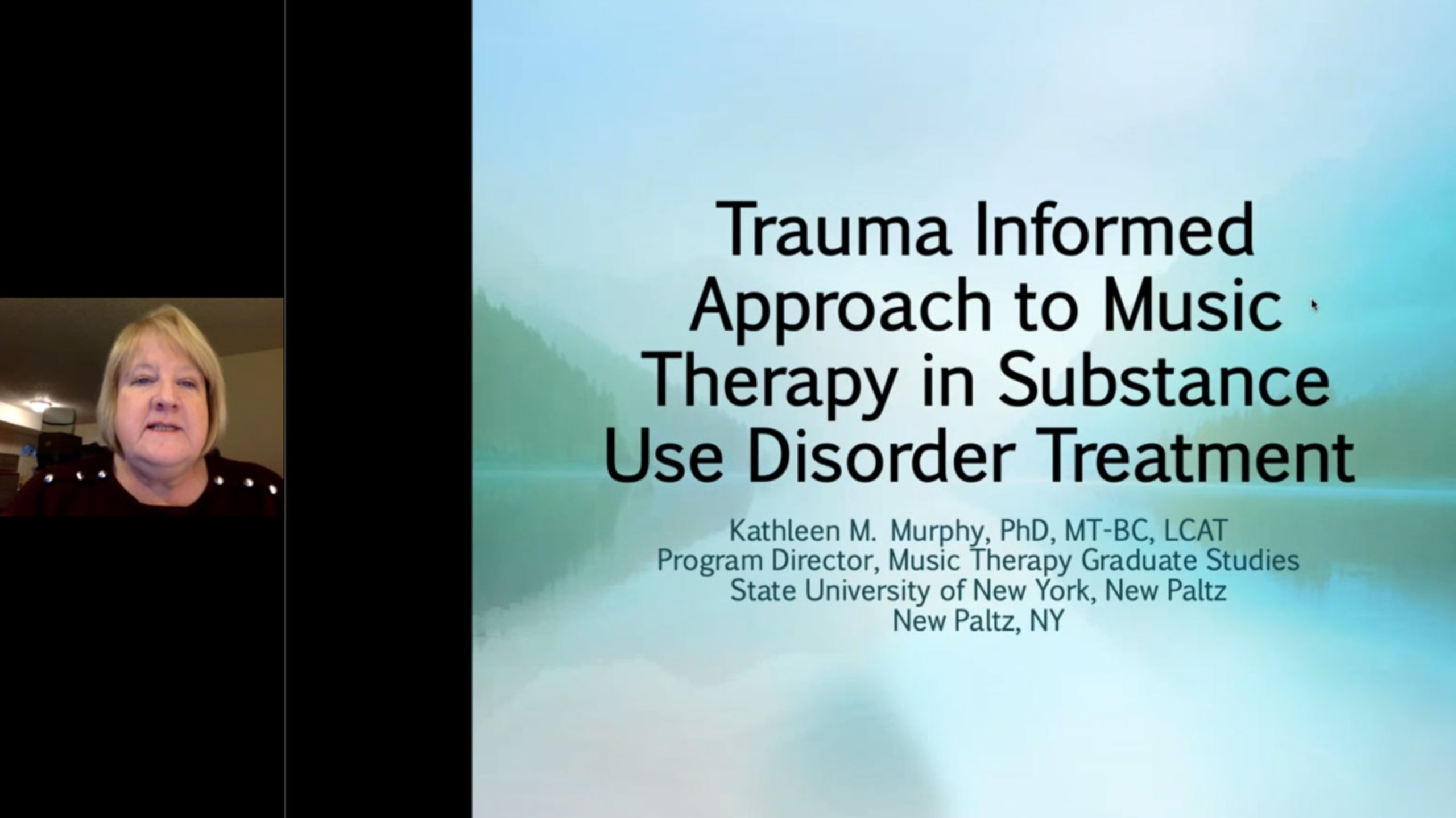 Trauma Informed Approach to Music Therapy in Substance Use Disorder Treatment