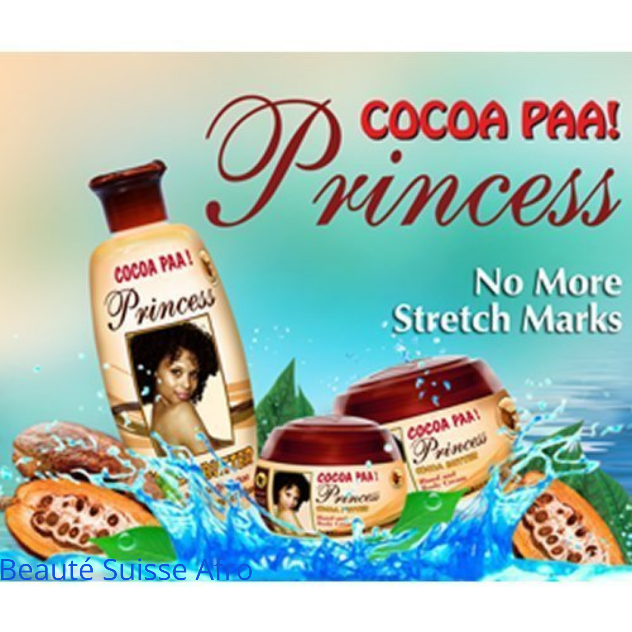 Cocoa Paa  Princess Cocoa Butter Lotion Face And Body + Cream