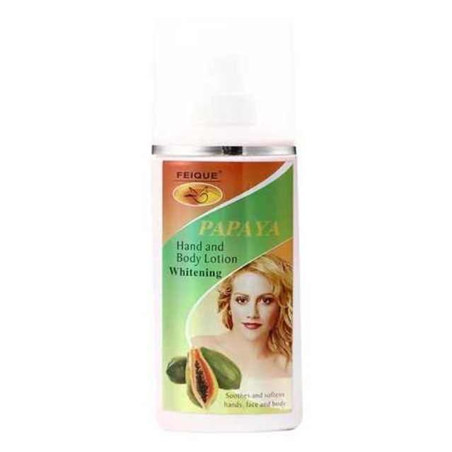 Gamme Papaya Hand and Body Lotion Whitening + Cream and Soap