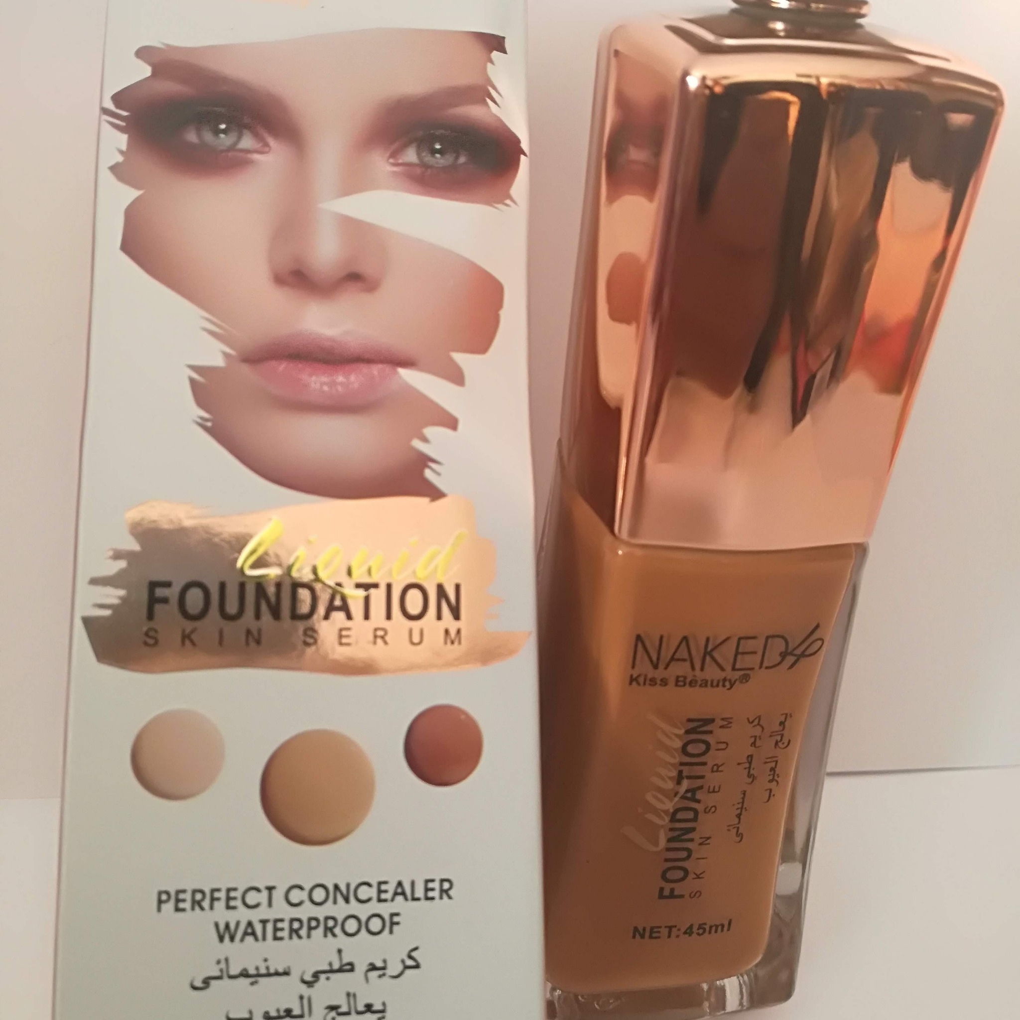 Naked & Kiss Beauty liquide Fondation