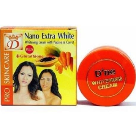2 x Nano Extra White Cream Naturel Papaya & Carott