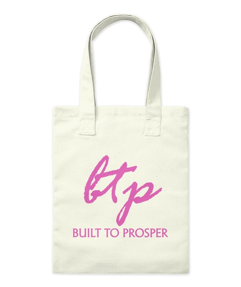 Built To Prosper Classic Pink Bag