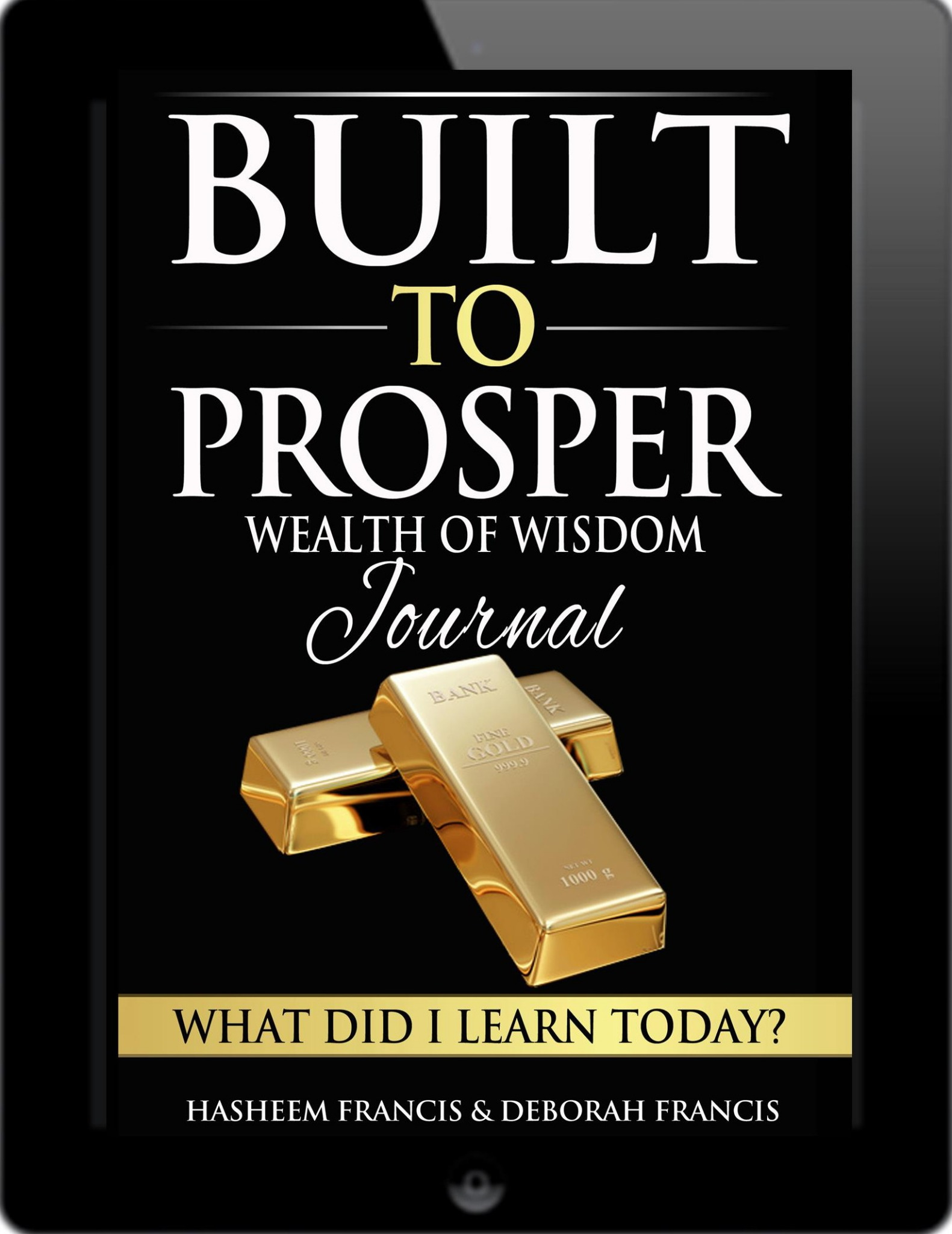 Built To Prosper Wealth of Wisdom Journal (ebook)