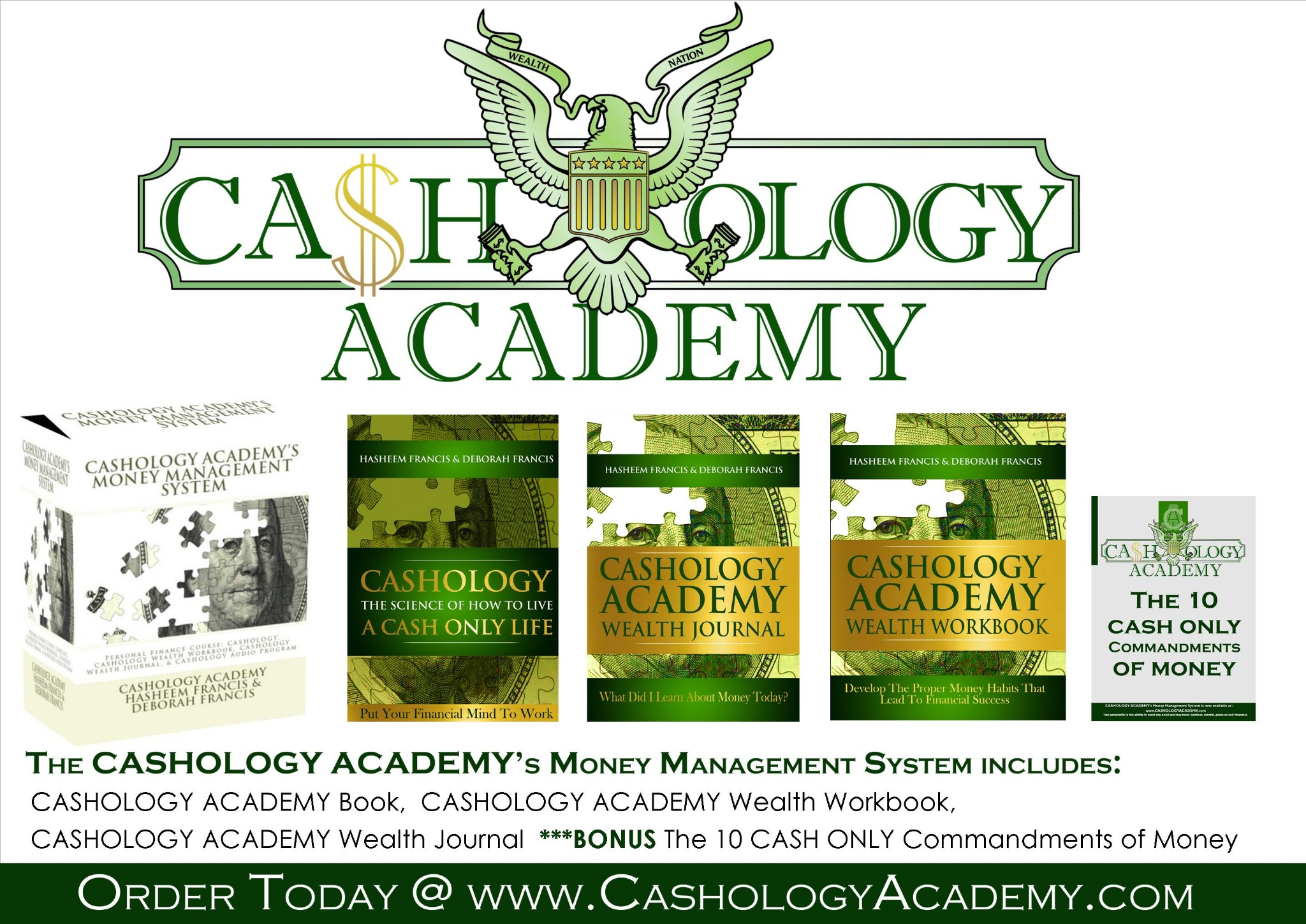 Cashology Academy Money Management (E-system)