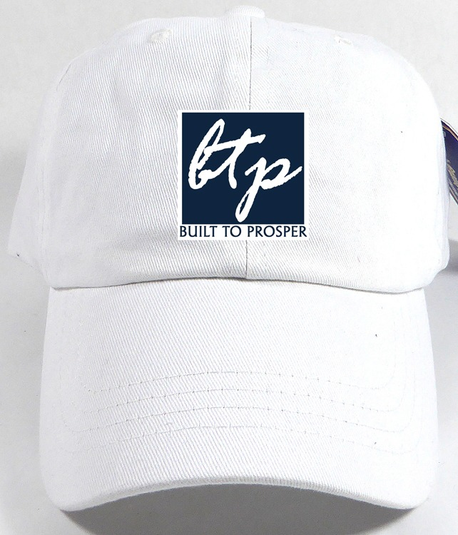 BTP Women White and Blue Cap