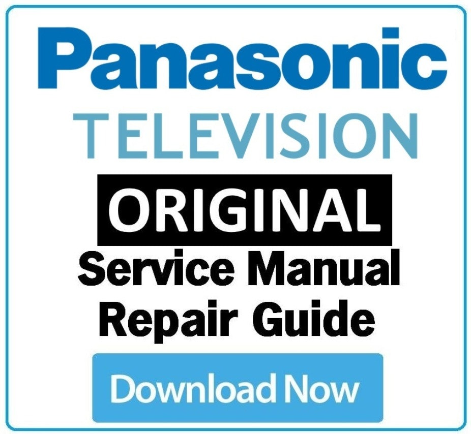 Panasnoic TX 32A300 MB95M Chassis TV Service Manual and Repair Guide