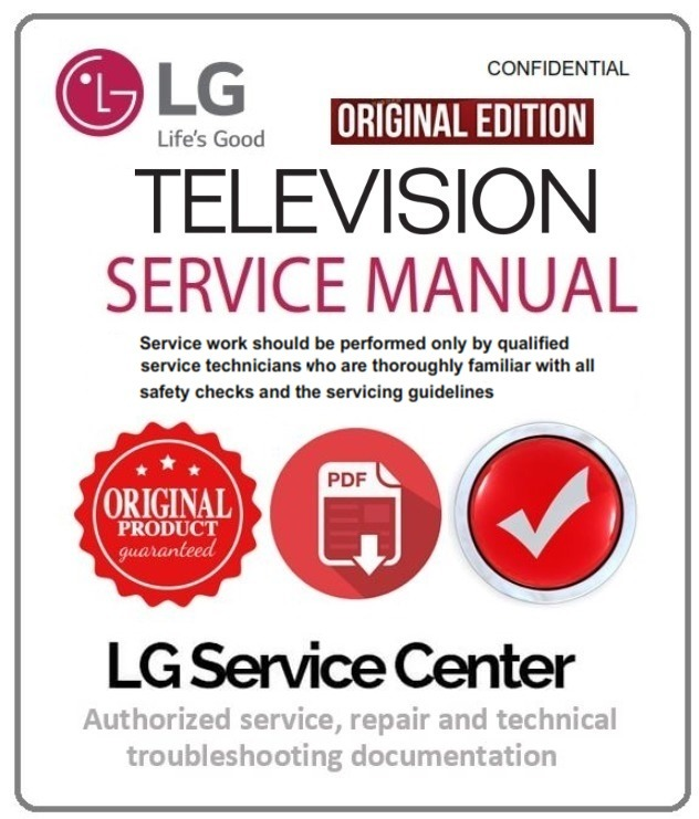 LG 15LC1R  TV Service Manual and Technical Troubleshooting
