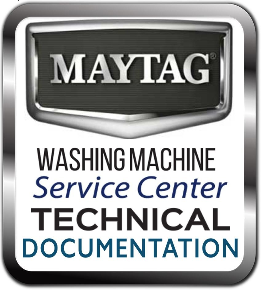 Maytag 4GMVWC300YW0 Washer Service Manual and Troubleshooting Guide