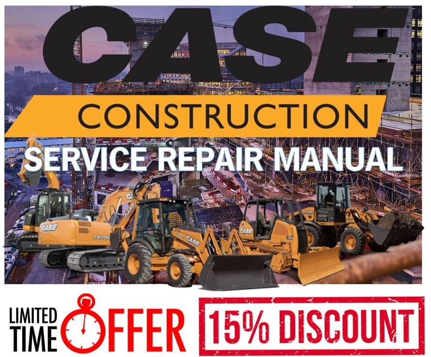 Case 1021G 1121G Wheel Loader Service Manual and Repair Guide