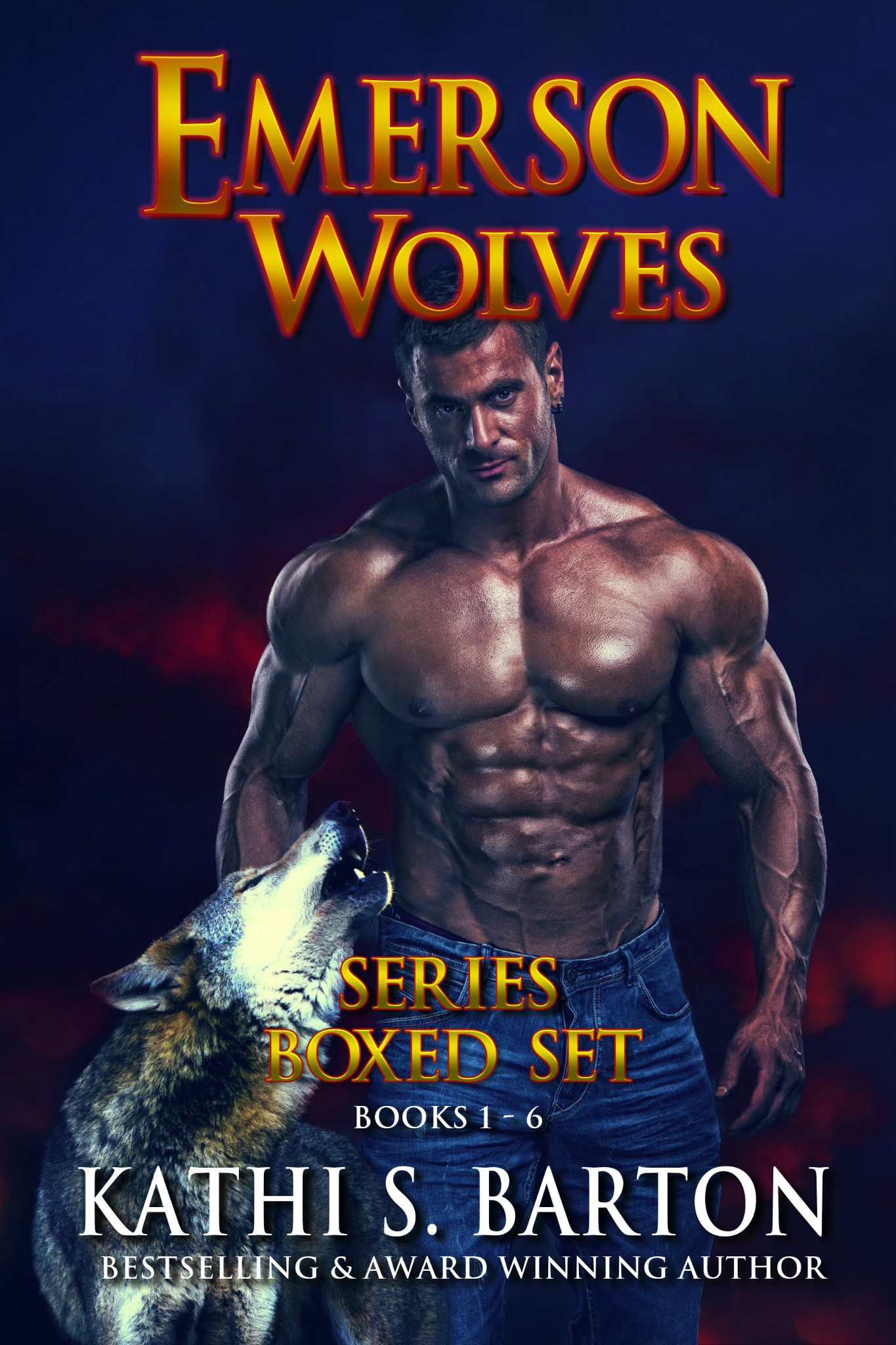 Emerson Wolves Series Boxed Set Book 1 - 6