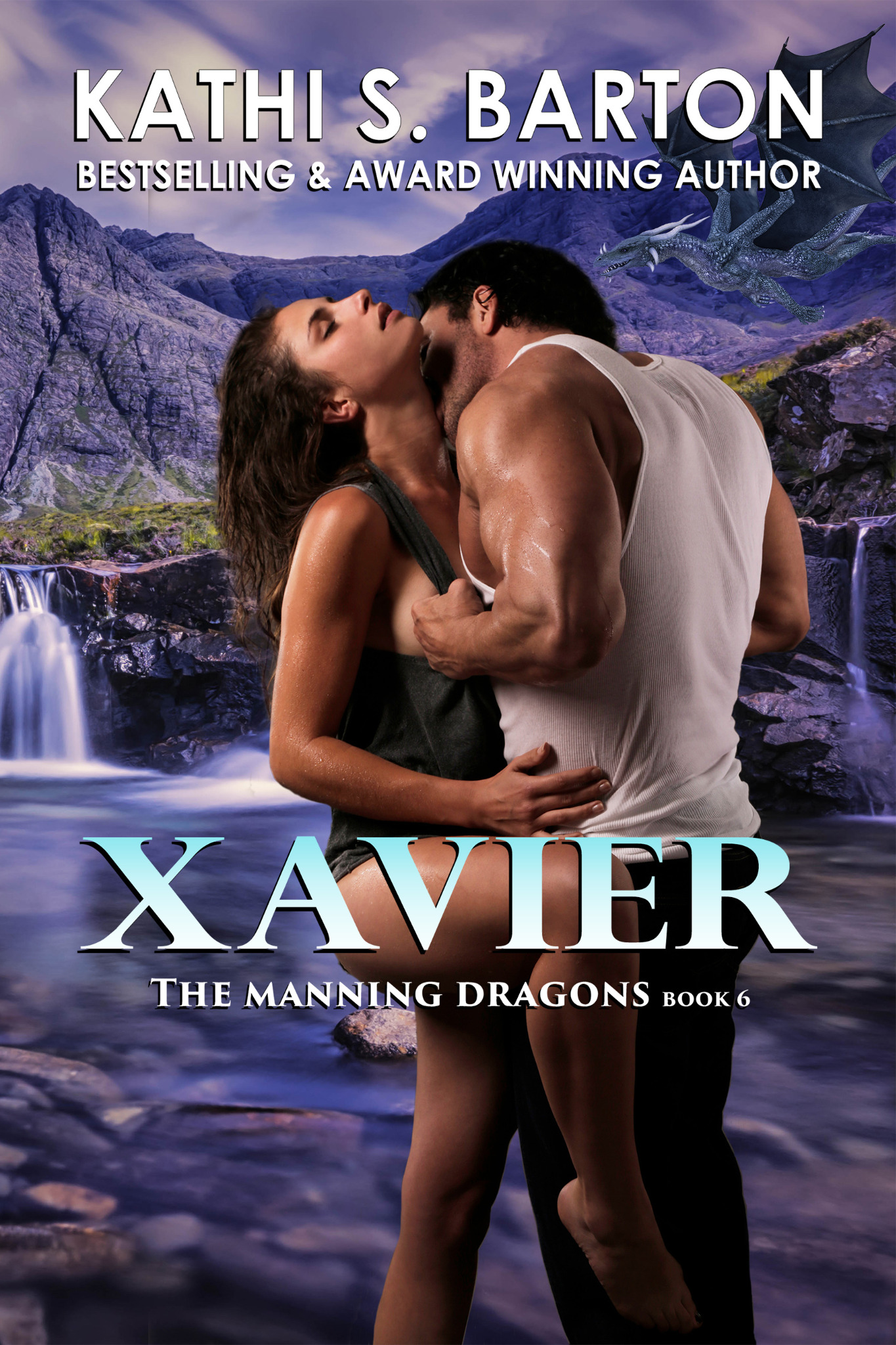 Xavier - The Manning Dragons Book 6