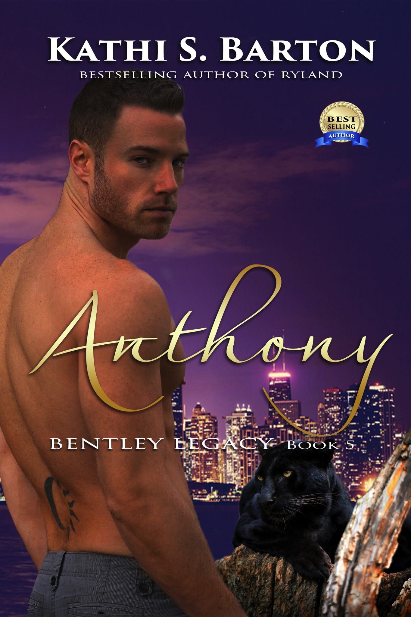Anthony - Bentley Legacy Book 5