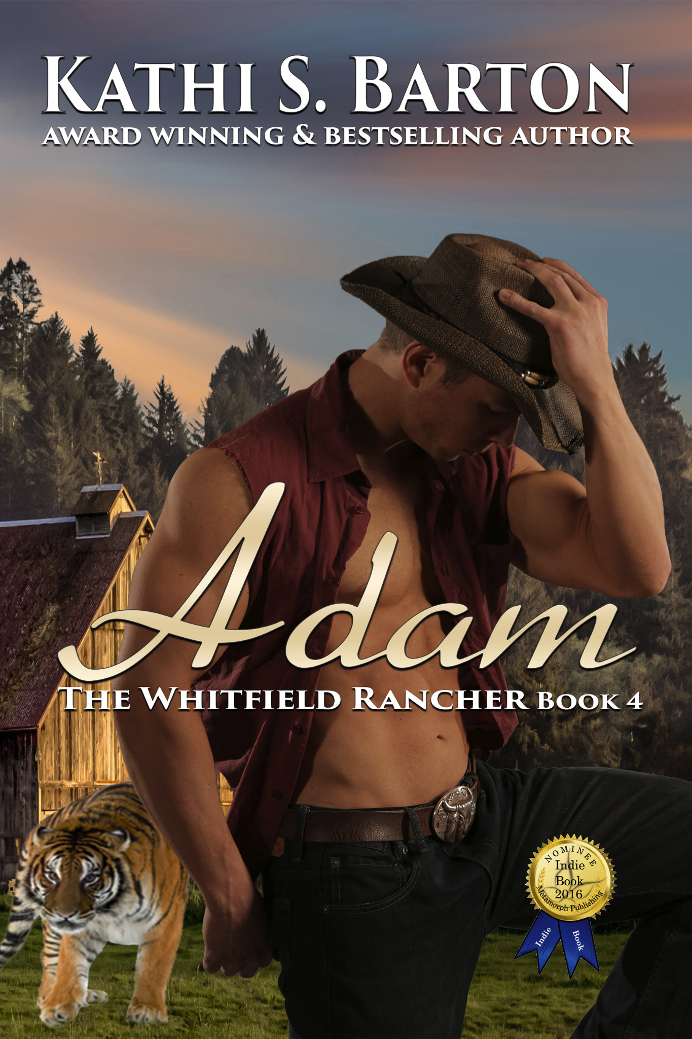 Adam - The Whitfield Rancher Book 4