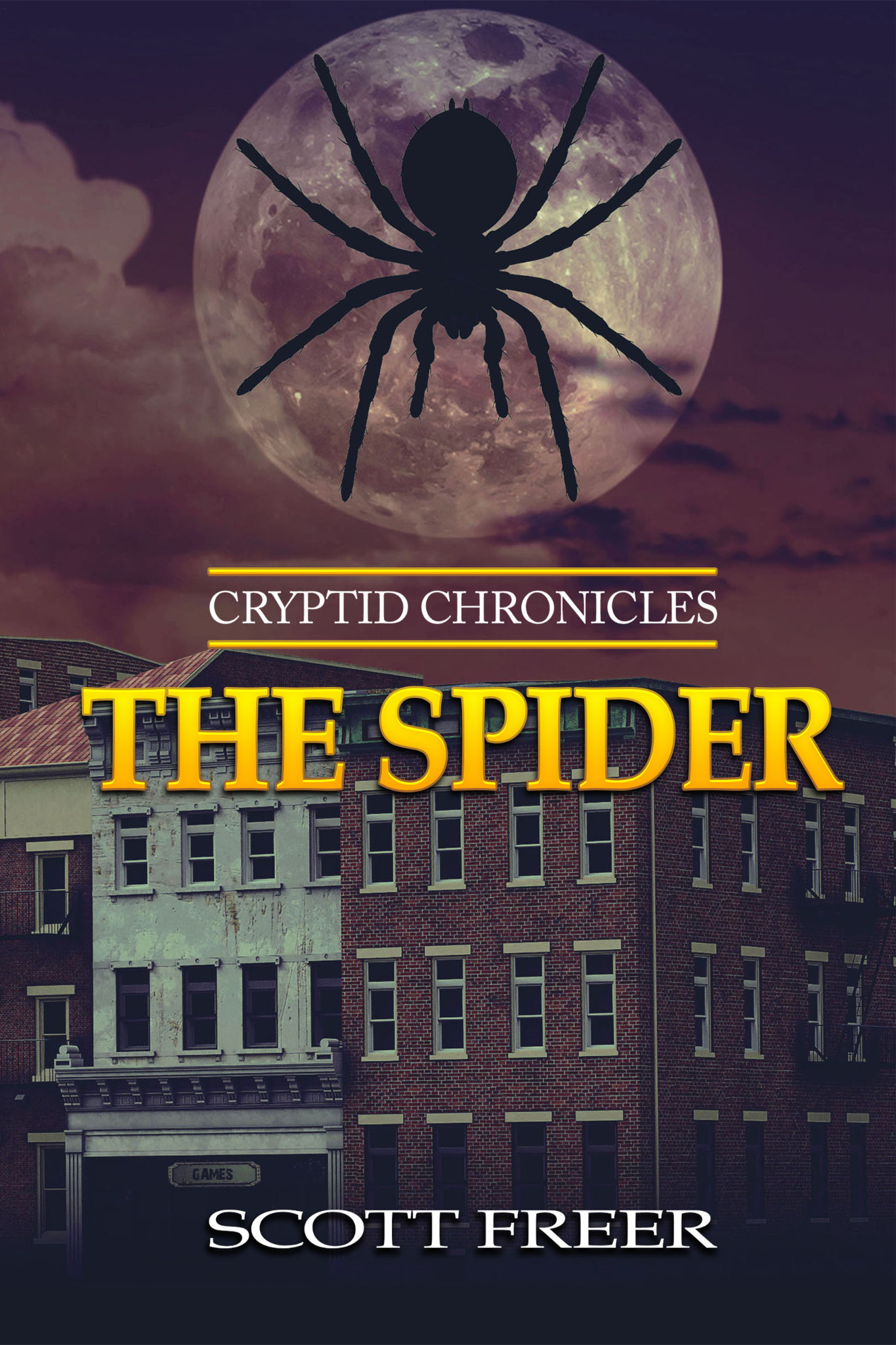 The Spider - Cryptid Chronicles Book 1