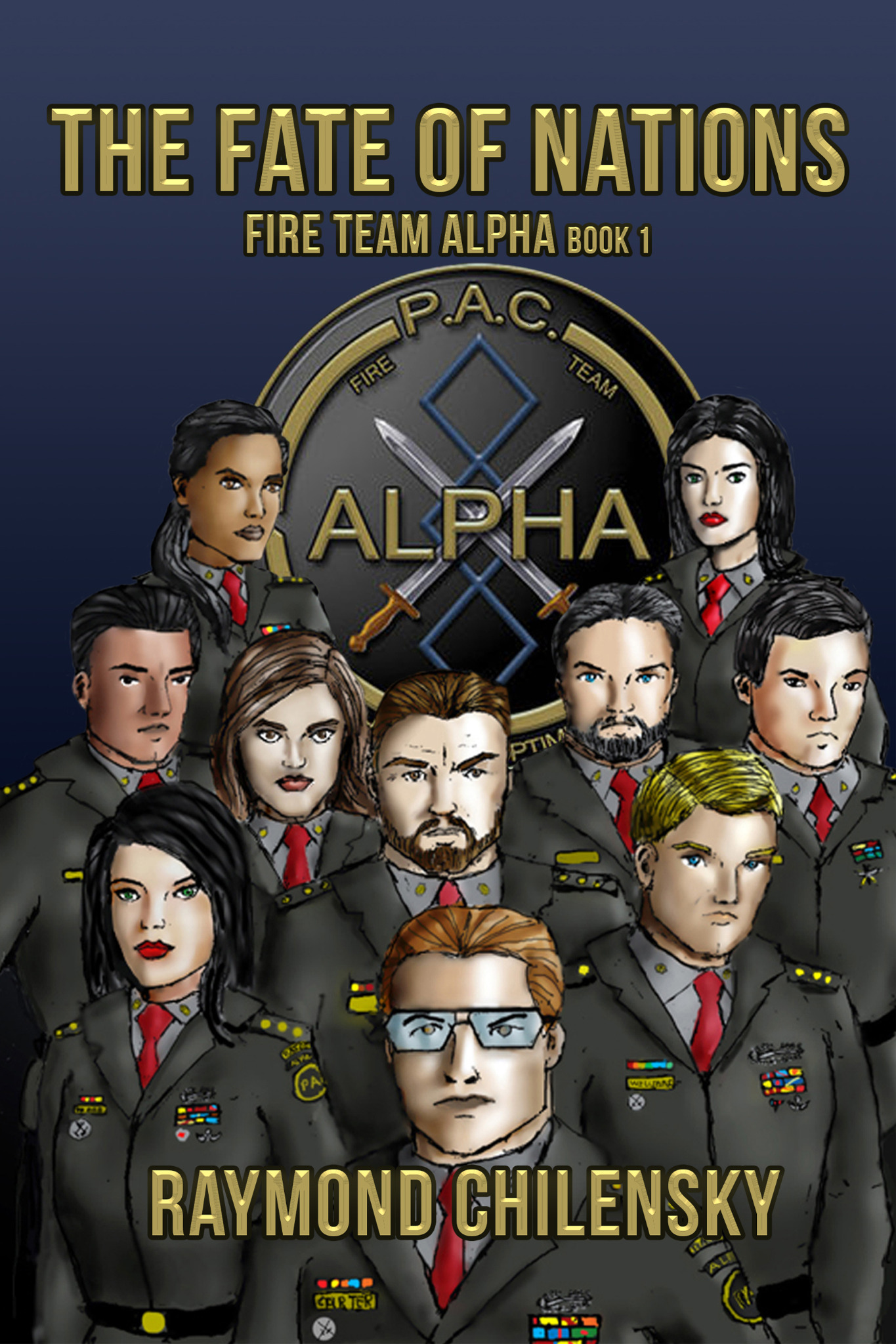 The Fate of Nations - FIRE Team Alpha Book 1