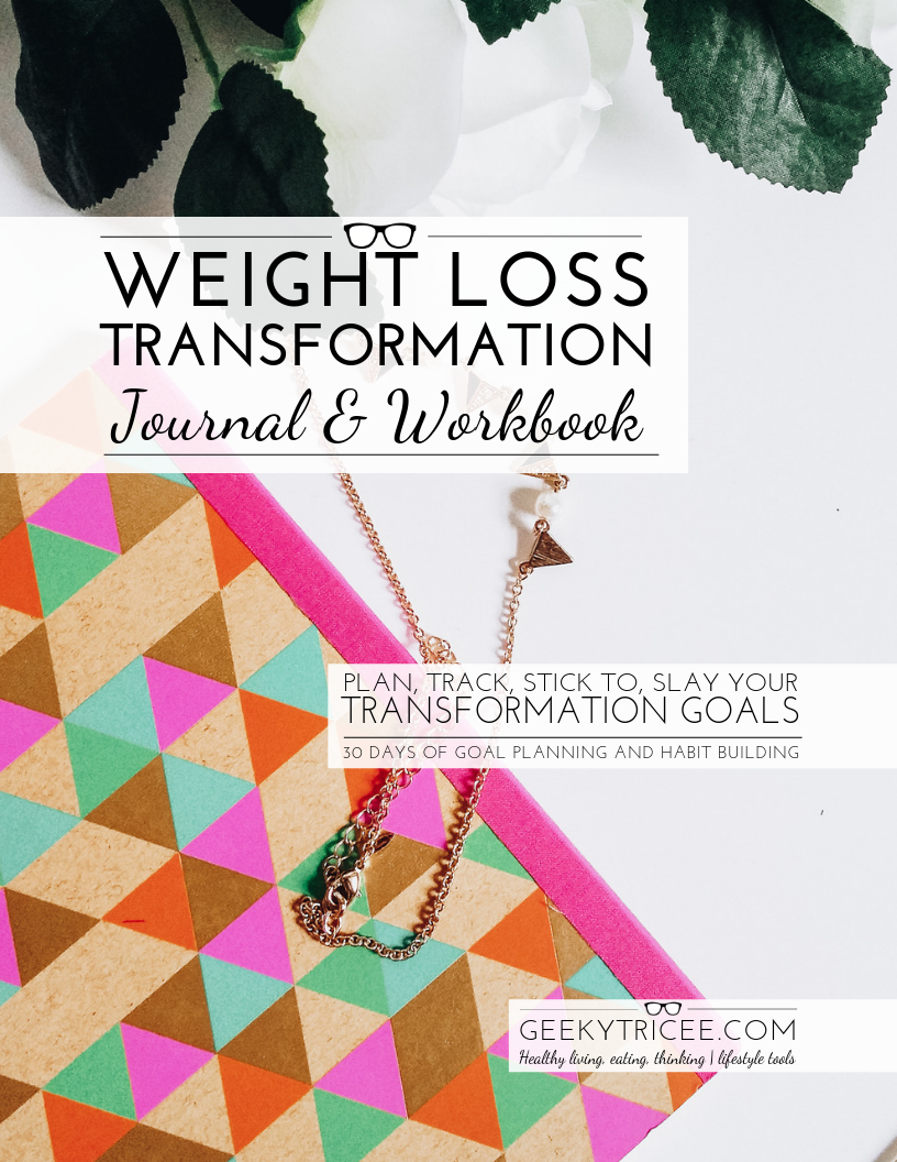 Weight Loss Transformation Journal + Workbook