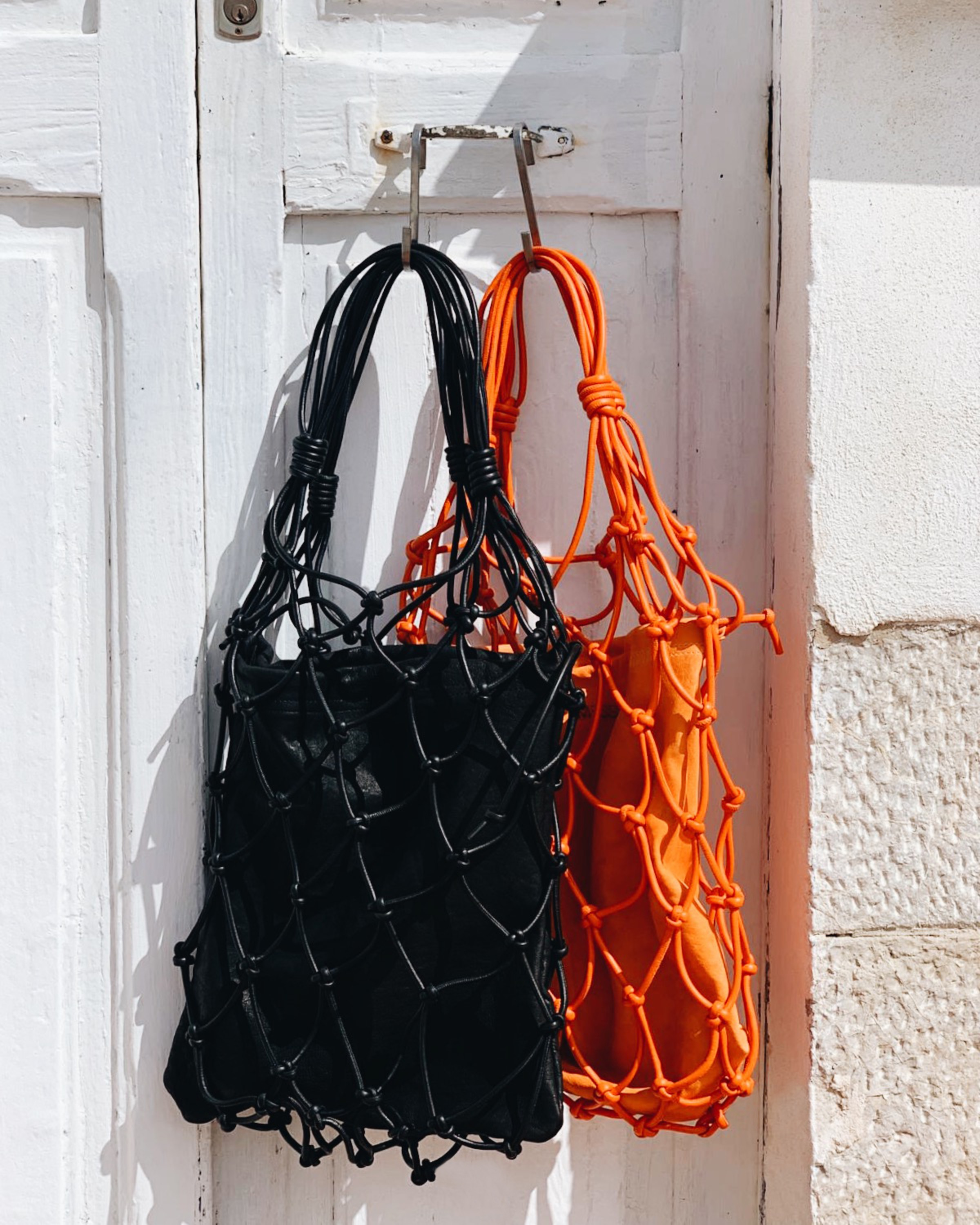 MESSED NET BAG - ORANGE