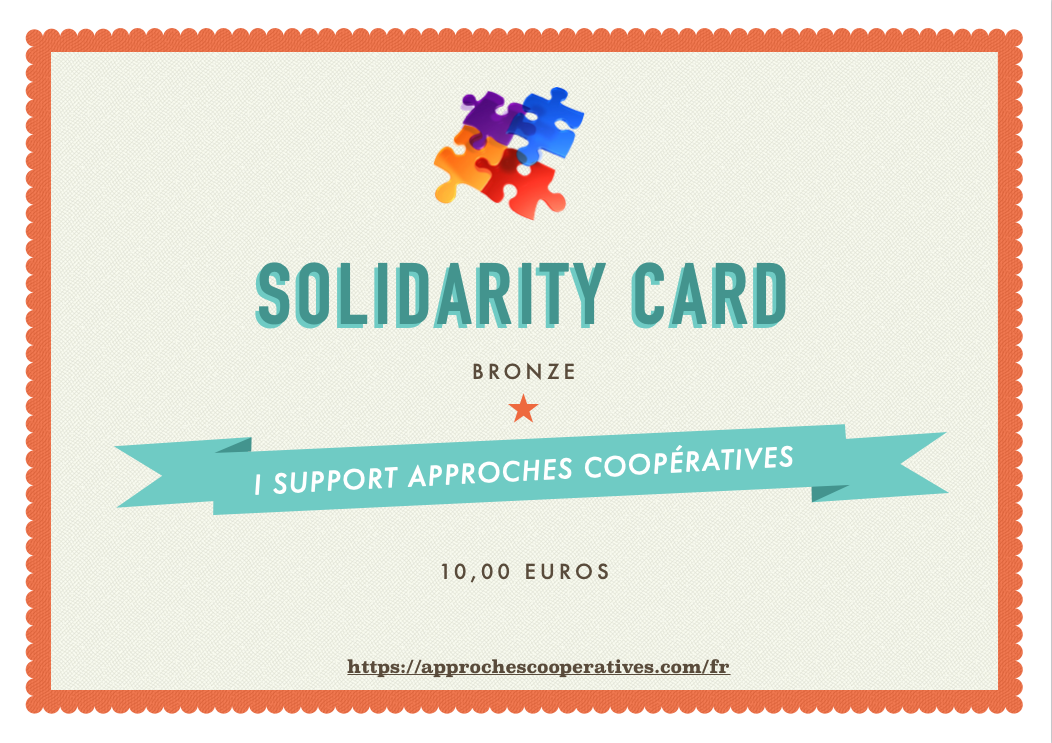 BRONZE Solidarity card