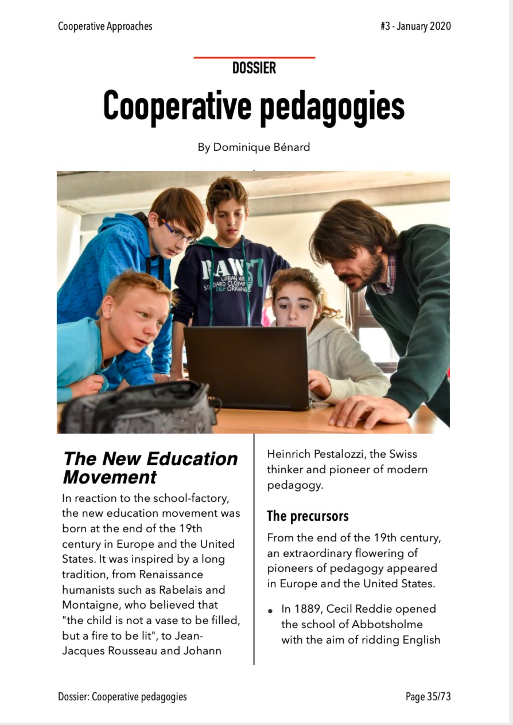 Cooperative Approaches #3