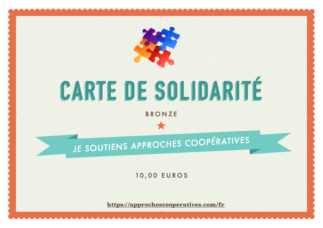 Carte de solidarité BRONZE