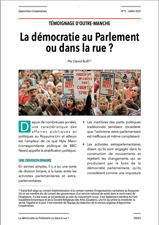 Approches Coopératives N° 11
