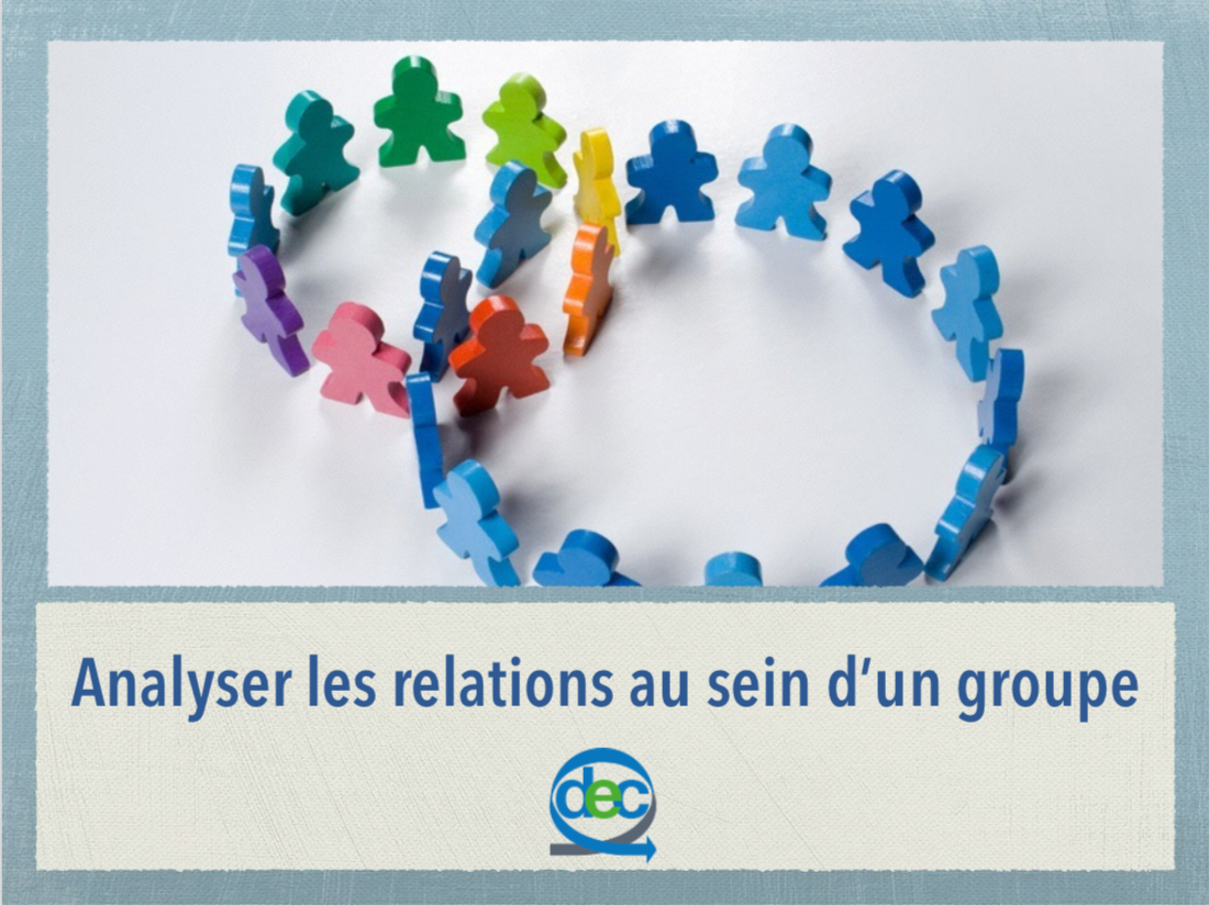 Analyser les relations de groupe
